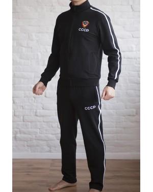 Спортивный теплый мужской костюм СССР