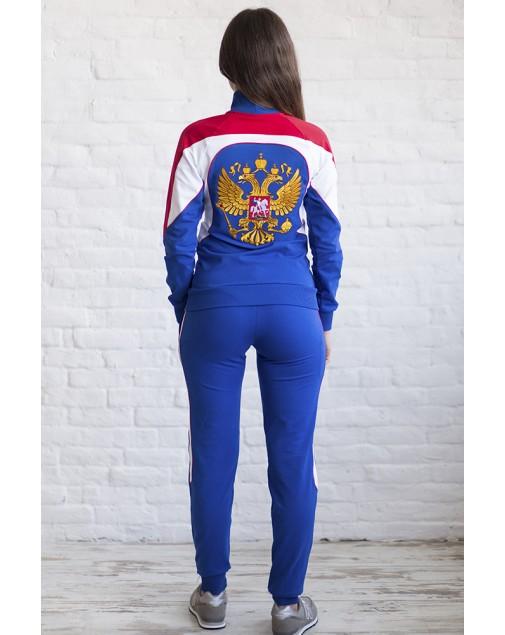 Спортивный костюм Россия герб .